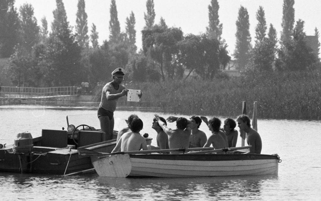 1982 Zánka, Uttörőváros később Gyermek és Ifjúsági Centrum, fotó © Magyar Rendőr