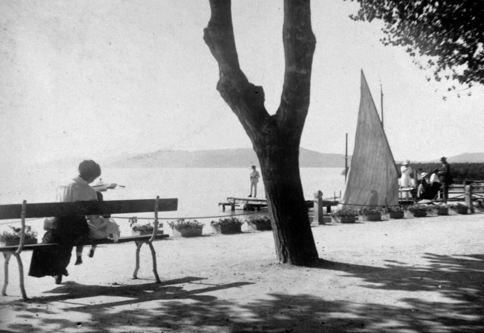 1943 Balatonfüred, Tagore-sétány, fotó © Saly Noémi