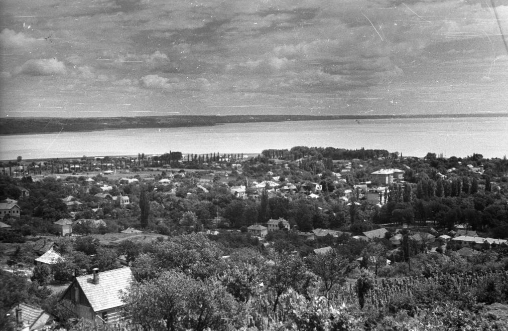 1958 Balatonalmádi, Wesselényi-kilátó, fotó © Krasznai Gyula