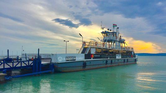 Kompmenetrend Balaton Tihany Szantod Rev Balatoni Hajozasi Zrt Ferry HAJOZASHU