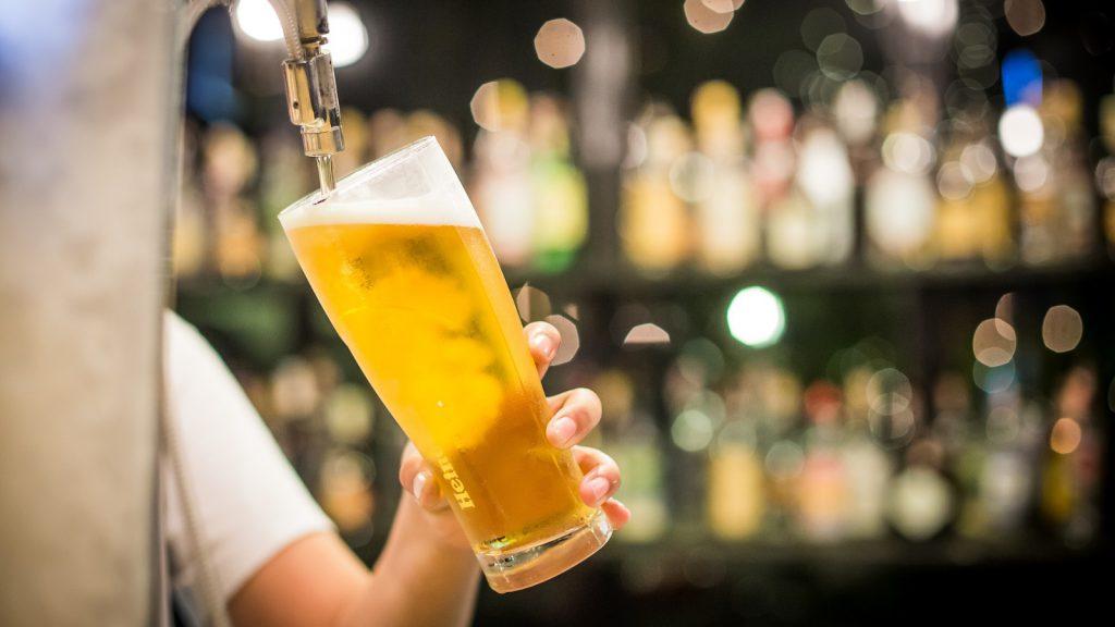 látvány és sörfogyasztás
