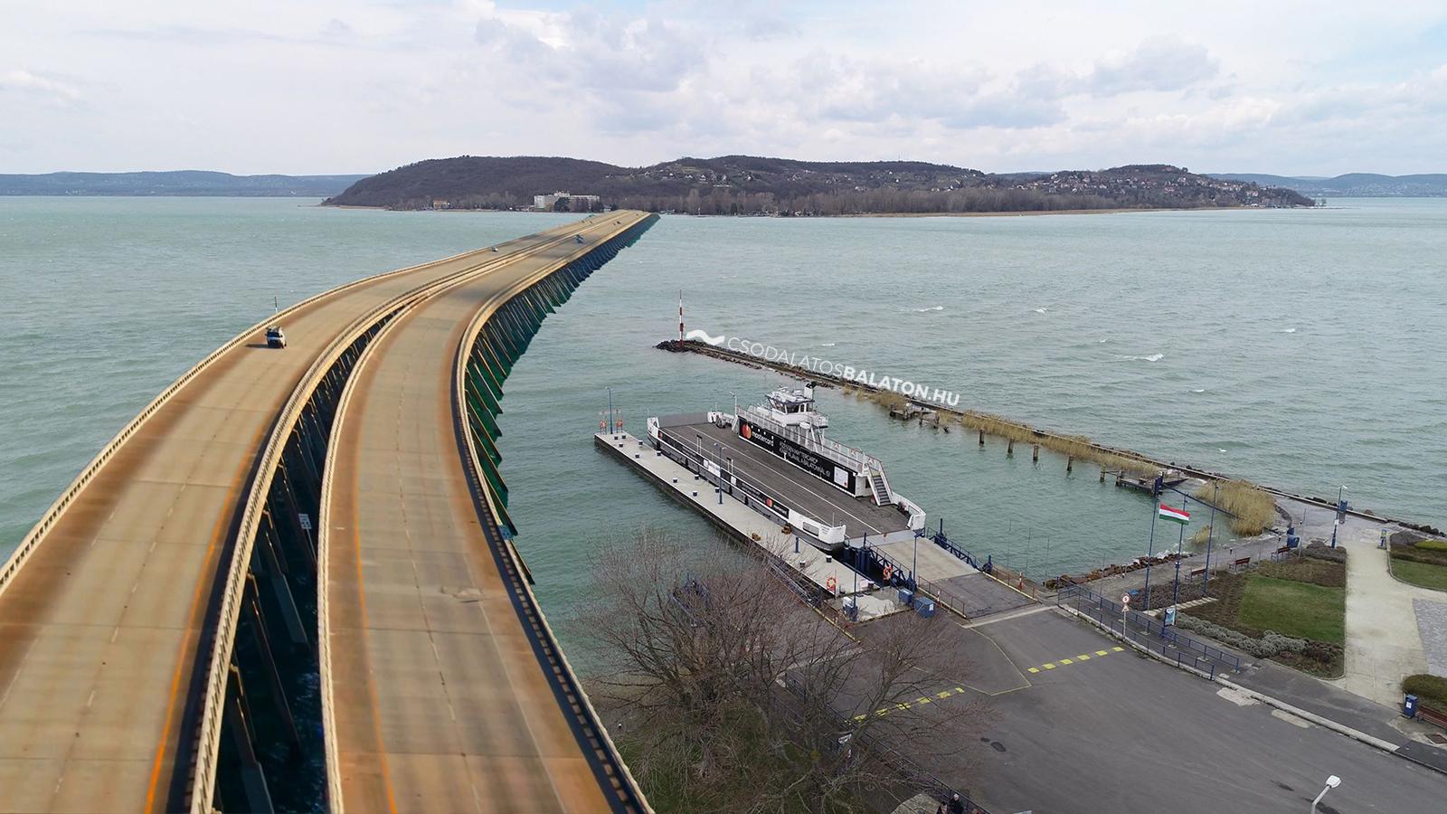 Elkezdik építeni az 1500 méteres hidat Tihany és Szántód között | CsodalatosBalaton.hu